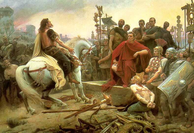Julio César y los galos