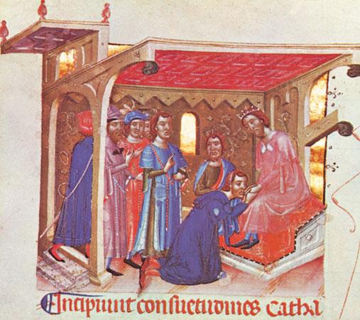 Enrique II de Francia y Diana de Poitiers