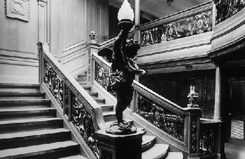 escalera del titanic