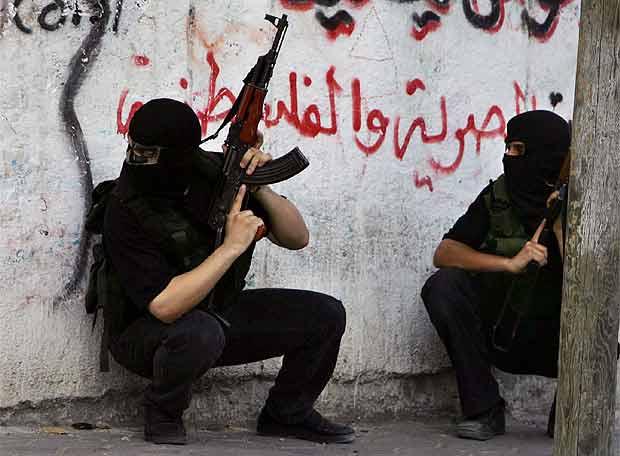 Miembros de Al Fatah