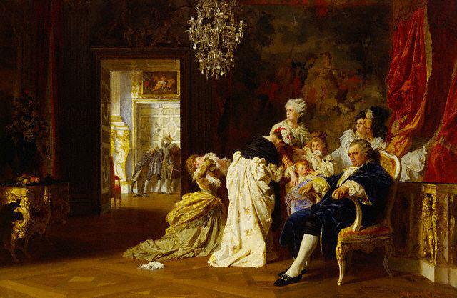 Luis XVI y Mará Antonieta